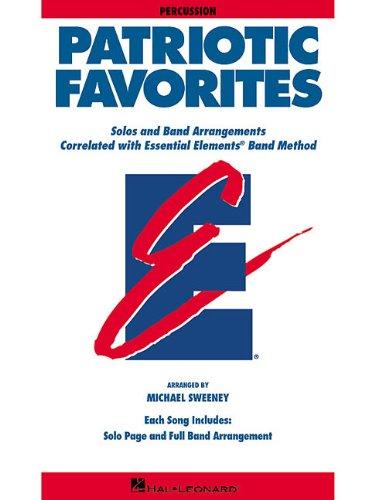 Percussion Essential Elements - Patriotic Favorites: Percussion