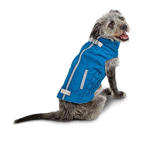 Good2Go Slate Blue and Grey Layered Ski Dog Coat, Small, Multi-Color ()