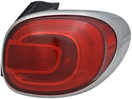 FIAT OEM 14-18 500L Combination Lamp-Trim Ring Left 68235995AA