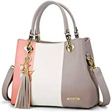 ad91dafa15eb Pomelo Best Handbags for Women, Satchel Bags with Shoulder Strap in Pretty  Colors Combination