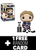 POP Funko NHL: Wayne Gretzky Edmonton Oilers Home Jersey Grosnor Exclusive (Chase) + 1 Random NHL Trading Card