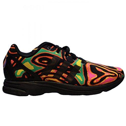 adidas Originals Jeremy Scott Men's ZX Flux Tech Psychedelic Sneakers ()