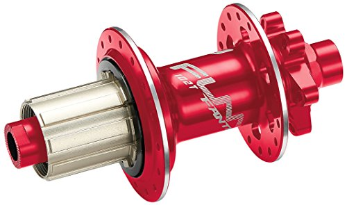 - Fantom AM 12x142 axle Rear hub with Shimano Cassette Body (red, 28H)