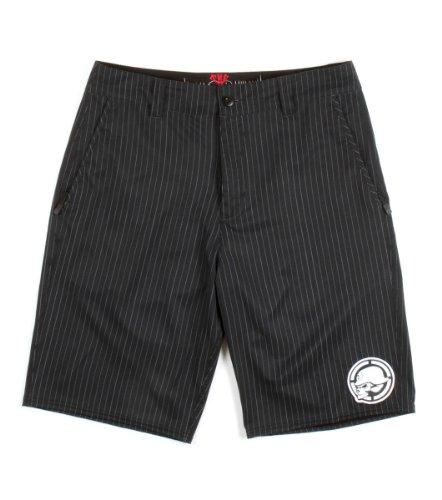 METAL MULISHA Bend Mens Hybrid Shorts, Black, 30