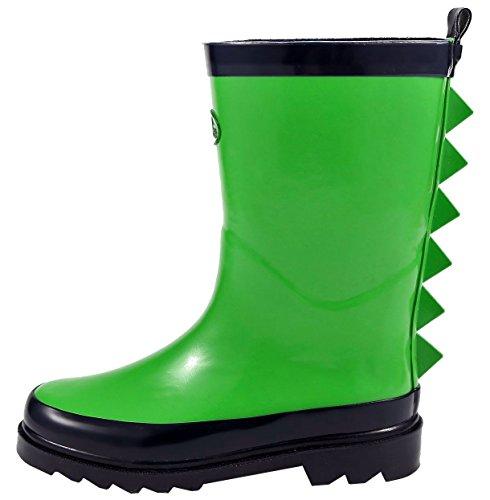 size 12 kids rain boots - 7