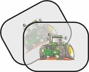 Personalizado Koolart - John Deere Tractor Car - parasol para el coche