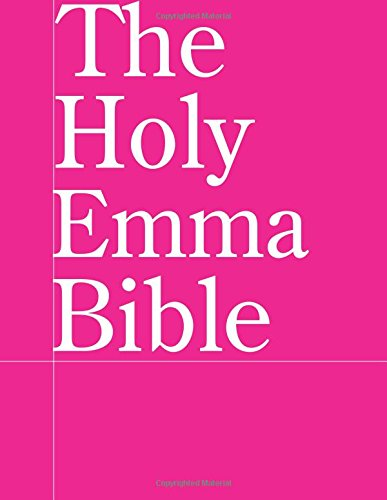 Read Online The Holy Emma Bible pdf