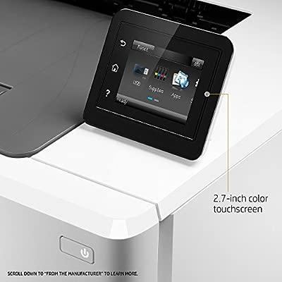 HP LaserJet Pro M254dw Wireless Color Laser Printer, Amazon Dash Replenishment Ready (T6B60A), White, One size