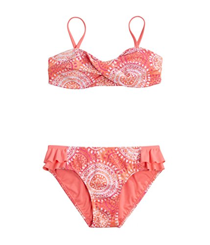 Justice Girls Twist Bandeau 2 Piece Bikini 658 6