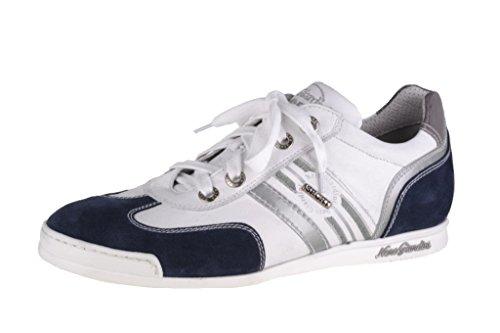 White pour lacets Blue Giardini de homme Chaussures Nero à ville 4qax1