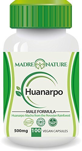 Madre Nature Wildcrafted Huanarpo Powder Capsules for Men: Male Enhancing Supplement Supports: Antioxidant, Anti Inflammatory (1 Pack)