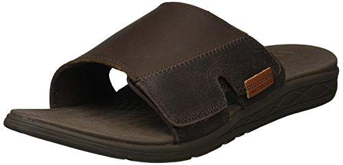 New Balance Men's Quest Slide Sandal, Whisky, 11 4E 4E US
