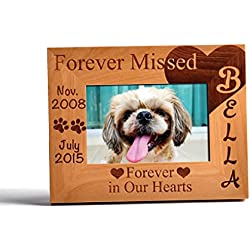 Free Engraving Personalized Wooden Photo Frame Customized Gift Memorial #SY06