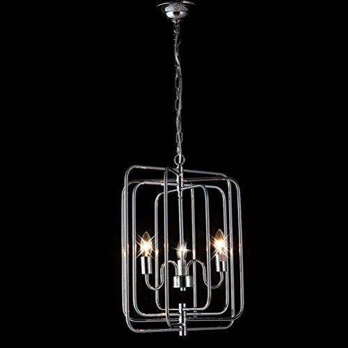 3 Chain Pendant Light in US - 5