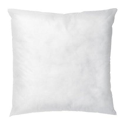 Imbottitura Cuscini Divano Ikea.Ikea Inner Cuscino Interno In Bianco 50 X 50 Cm Amazon It Casa