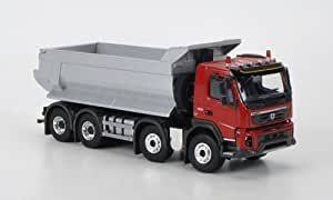 Volvo FMX 500 8x4, rojo, volquete, Modelo de Auto, modello completo, Eligor 1:50