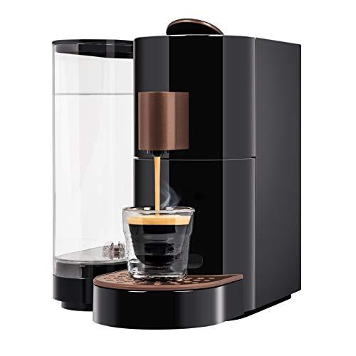 K-fee Twins II Verismo Compatible Single Serve Coffee/Espresso Machine (Black/Copper)