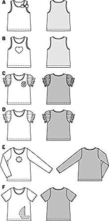 1aaa93984c64 Burda Schnittmuster T-Shirt   Top 9439  Amazon.de  Küche   Haushalt