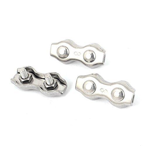 edealmax-m3-310-acero-inoxidable-dplex-de-2-postes-cuerda-de-alambre-clip-abrazadera-de-cable-de-3-piezas