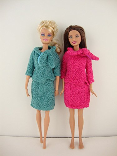 knit a barbie dress - 7