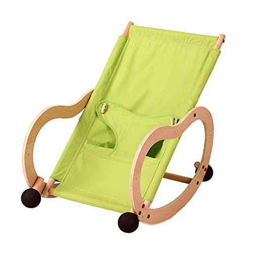 Qi Peng Silla Mecedora para bebés Silla cómoda para bebés Cuna Cama Recién Nacido Cuna reclinable Silla Mecedora Sofá de...