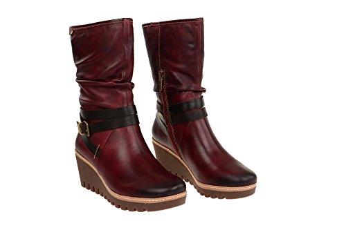 PikolinosMaple - botas clásicas Mujer Rojo