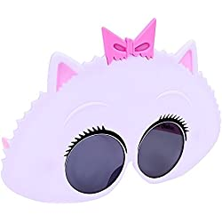 Sunstaches Secret Life of Pets Gidget Sunglasses, Party Favors, UV400