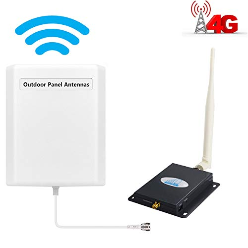 ATT T-Mobile Cell Phone Signal Booster LTE 4G for Home and Office HJCINTL FDD Band12/17 Mobile Phone Signal Amplifier Booster Kits