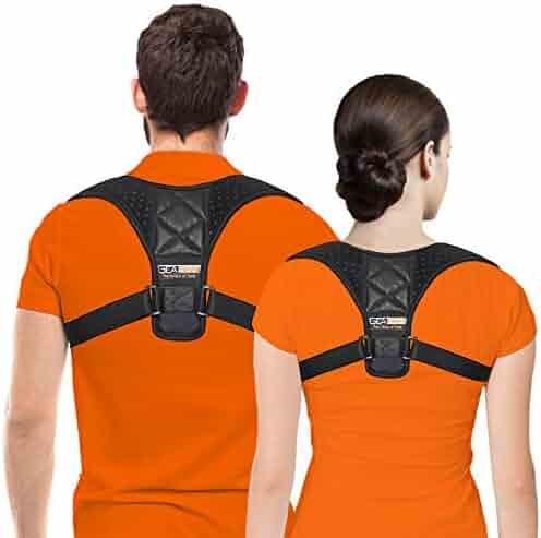 Posture Corrector for Women Men - Posture Brace - Adjustable Back Straightener - Discreet Back Brace for Upper Back Pain Relief, Comfortable Posture Trainer for Spinal Alignment Support FDA APPROVED
