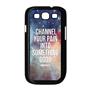 Beautiful High Quotes Shell Phone for samsung galaxy s3 Black Cover Phone Case