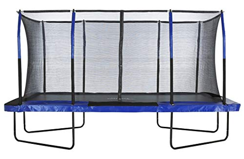 Upper Bounce Easy Assemble Spacious Rectangular Trampoline...