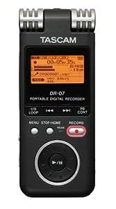 tascam dr07 portable digital recorder musical instruments. Black Bedroom Furniture Sets. Home Design Ideas