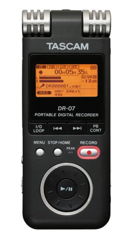 Tascam DR07 Portable Digital Recorder
