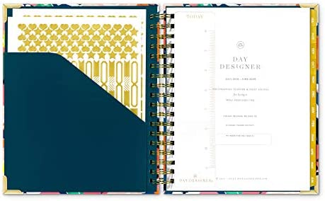 picture about Day Designer Daily Planner called : Working day Designer 2019-2020 Every day Everyday living Planner and
