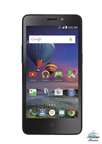 Cheap Carrier Cell Phones ZTE Midnight Pro 4 LTE Black SIMPLE MOBILE with 8GB Memory Prepaid..