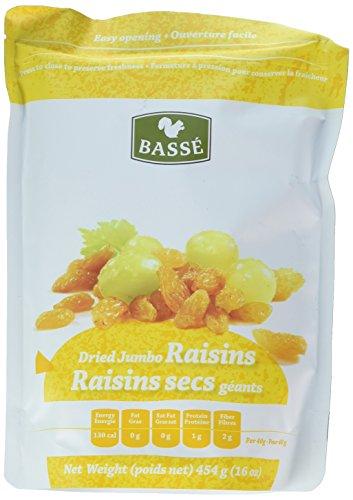 Golden Raisin - Golden Raisins, Dried Jumbo Golden Raisins from Basse Dried Fruits (2 Pounds)
