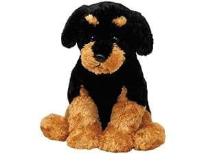 "Amazon.com: Ty Classic 13"" Brutus Rottweiler Dog: Toys & Games"
