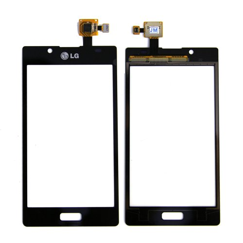 ePartSolution-OEM LG Optimus L7 P700 Touch Screen Digitizer Outer Top Glass Black Replacement Part USA Seller