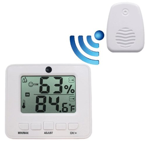 Ambient Weather WS-05 Easy-to-Read Wireless Adjustable Therm