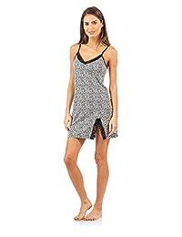 Casual Nights Women's Sleepwear Lace Trim Slip Chemise