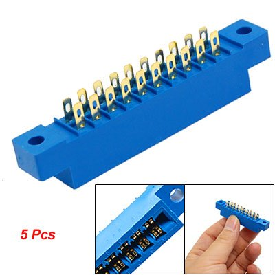 5 Pcs 805 Series 3.96mm Pitch 20P Card Edge Connectors