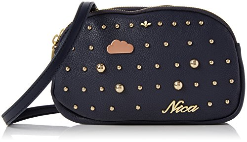 Nica Womens Miyah Cross-Body Bag Blue (Navy)