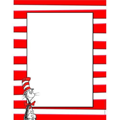 EUREKA DR SEUSS THE CAT IN THE HAT (Set of 6)