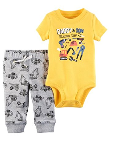 Carter's Baby Boys' 2 Piece Bodysuit and Pants Set 24 Months