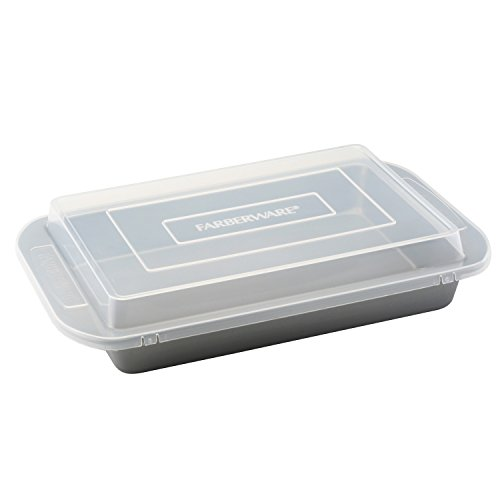 Farberware Nonstick Bakeware 9-Inch-by-13-Inch Cake Pan with Lid image