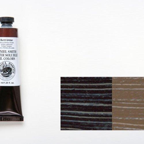 (DANIEL SMITH 284390004 Water Soluble Oils Paint Tube, 37 ml, Burnt Umber)