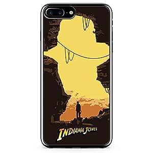 loud universe Artowrk Movie Poster iPhone 8 Plus Case Indiana Jones iPhone 8 Plus Cover with Transparent Edges