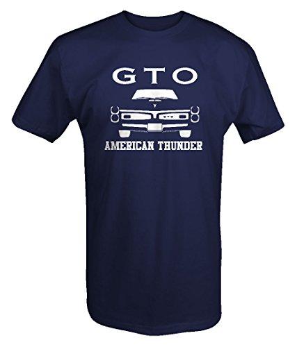 Pontiac Gto Goat American Thundergrill Racingmuscle Car T Shirt   Xlarge