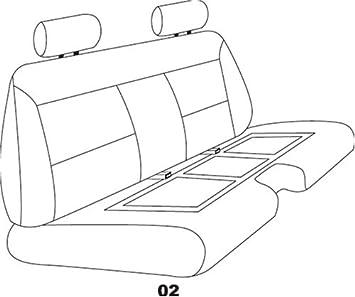 TOYOTA Genuine 71071-89401-J2 Seat Cushion Cover