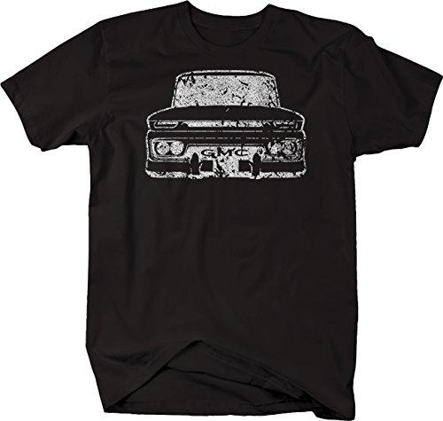 Distressed - GMC 60-66 Pickup Truck C10 Tshirt - XLarge